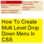 how-to-make-multi-level-drop-down-menu-in-css