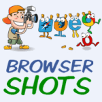 screenshots of web pages with browsershots