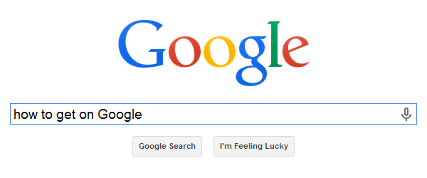 how-to-get-on-google