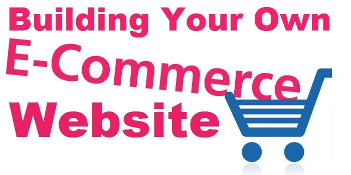 building your own eCommerce website