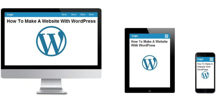 you will soon have your own responsive WordPress website