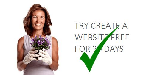 free trial site builder