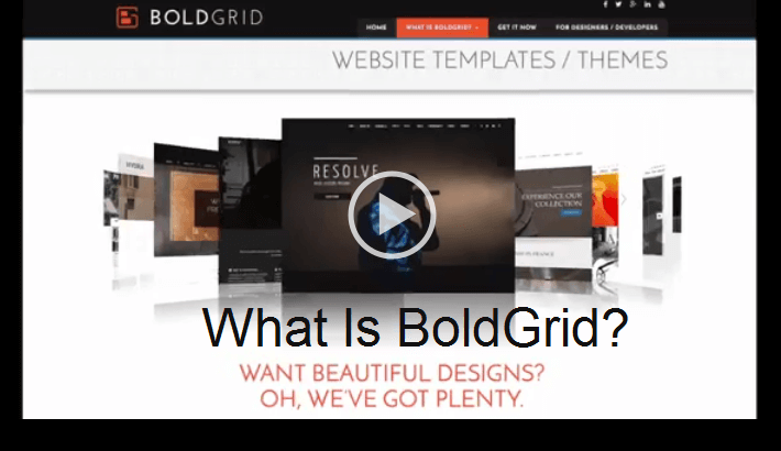 Learn How To Make Your Own Website With Boldgrid