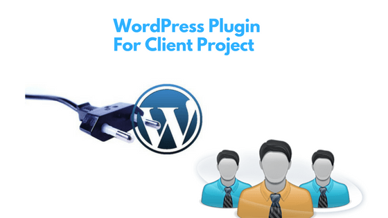 WordPress plugins for client projects